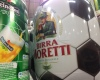 Birra Moretti football beer keg | www.footballmarketing.tv | Picture by Sebastiano Mereu