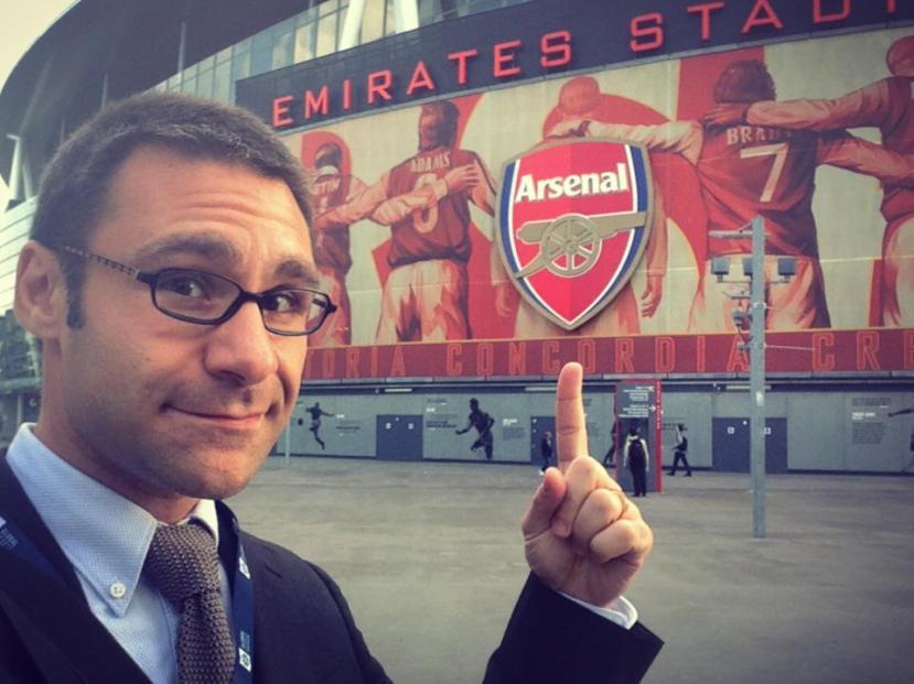 Sebi-at-Arsenal
