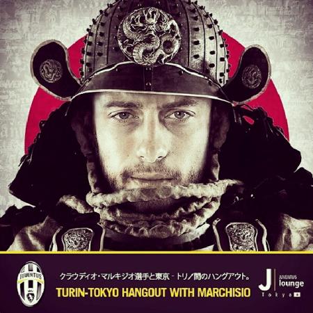 Juventus: Marchisio Japan hangout