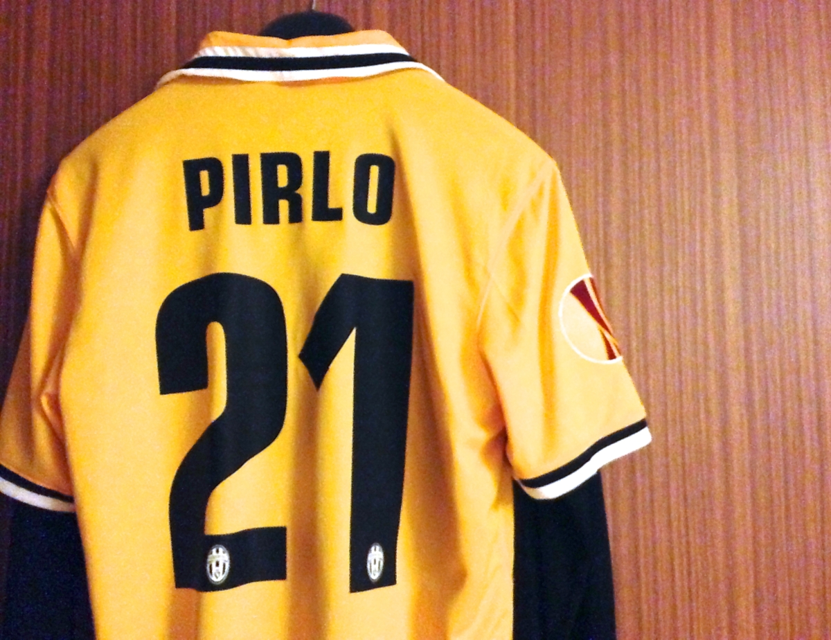 ff14adebb Andrea Pirlo  The Branded Footballer  Series