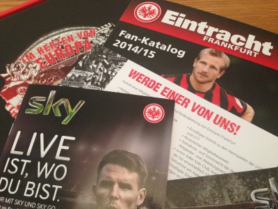 Eintracht Frankfurt content of jersey package