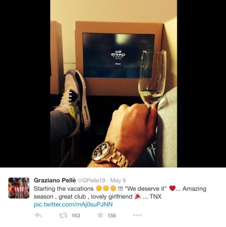 Graziano Pellè on Twitter