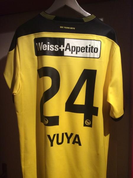 Yuya Kubo BSCYB home jersey 2013-14