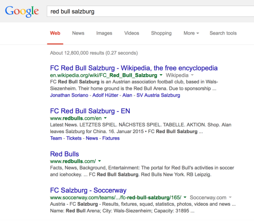 FC Red Bull Salzburg Google Search