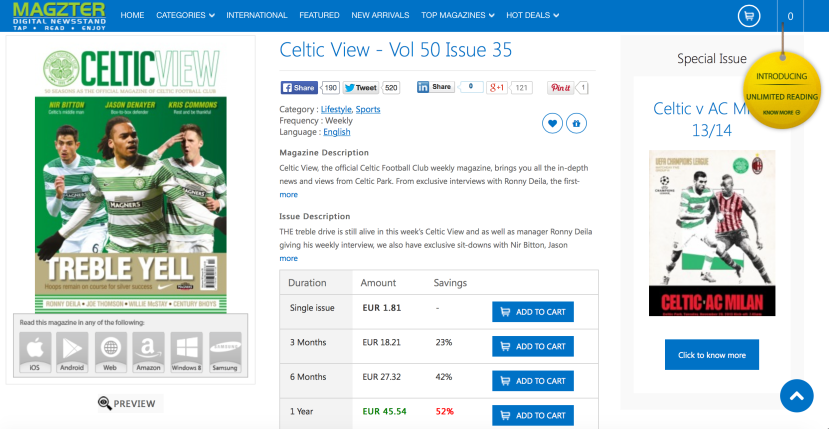 Celtic View on Magzter