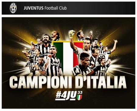 Juventus FC Campioni D'Italia 2014/15 #4JU 33