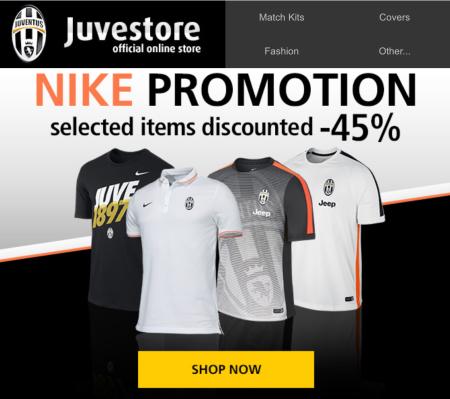 Juvestore Nike promotions