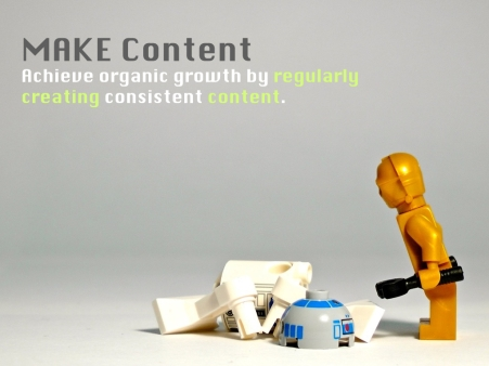 The 3Ms of Content - 2 - Make