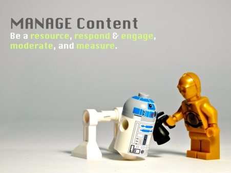 The 3Ms of Content - 3 - Manage