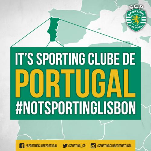 #NotSportingLisbon