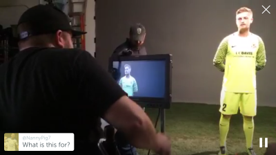 """Periscope @SacRepublicFC, 8 March 2016, """"Behind the scenes: Media Day"""""""