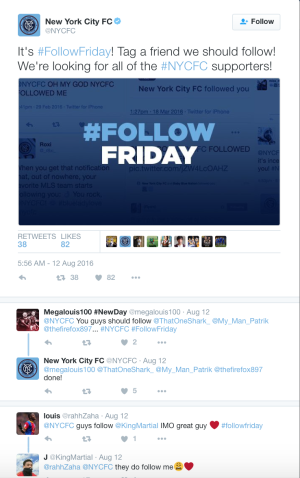 Figure 5: Affective/emotional experience on Twitter conversation of NYC FC