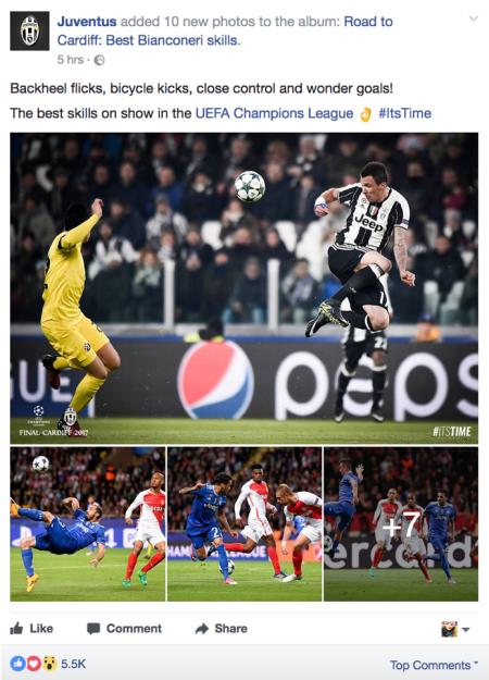 Juventus FC, Availability Heuristics, 2017
