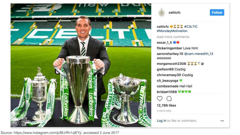Celtic FC on Instagram 2017 – Treble Winners #inVIncibles