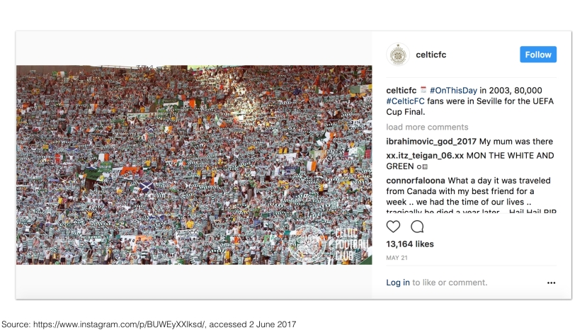 Celtic FC on Instagram 2017